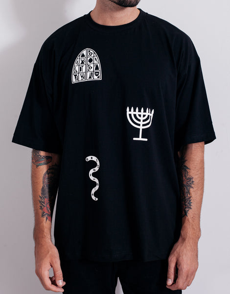 PANTAINANAS Sacrament Tee Black