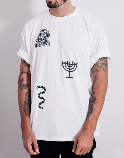 PANTAINANAS Sacrament Tee White