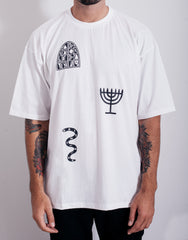 PANTAINANAS Sacrament Tee White Front
