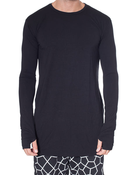 Nemis Super Long-Sleeve Black
