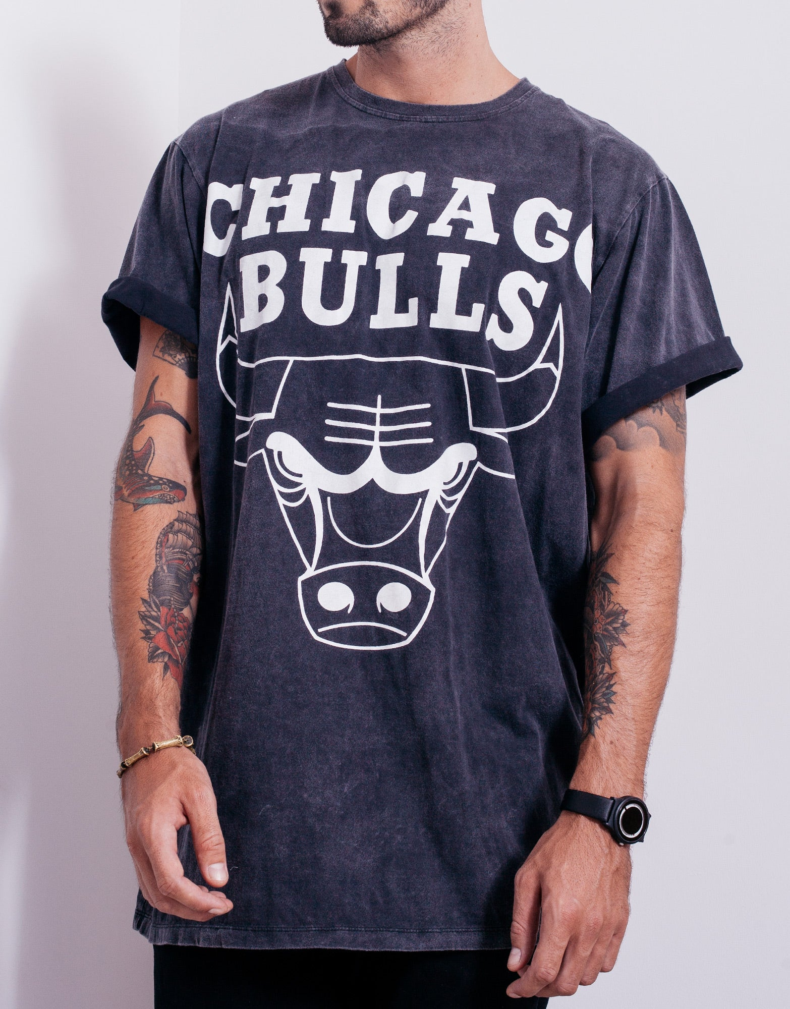 5f4f20e0d Chicago Bulls Throwback T Shirts