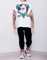Usual Suspect Oversize Mighty Ducks Tee Outfit Front