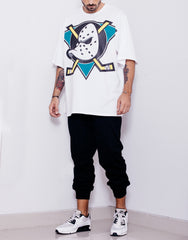 Usual Suspect Oversize Mighty Ducks Tee Outfit