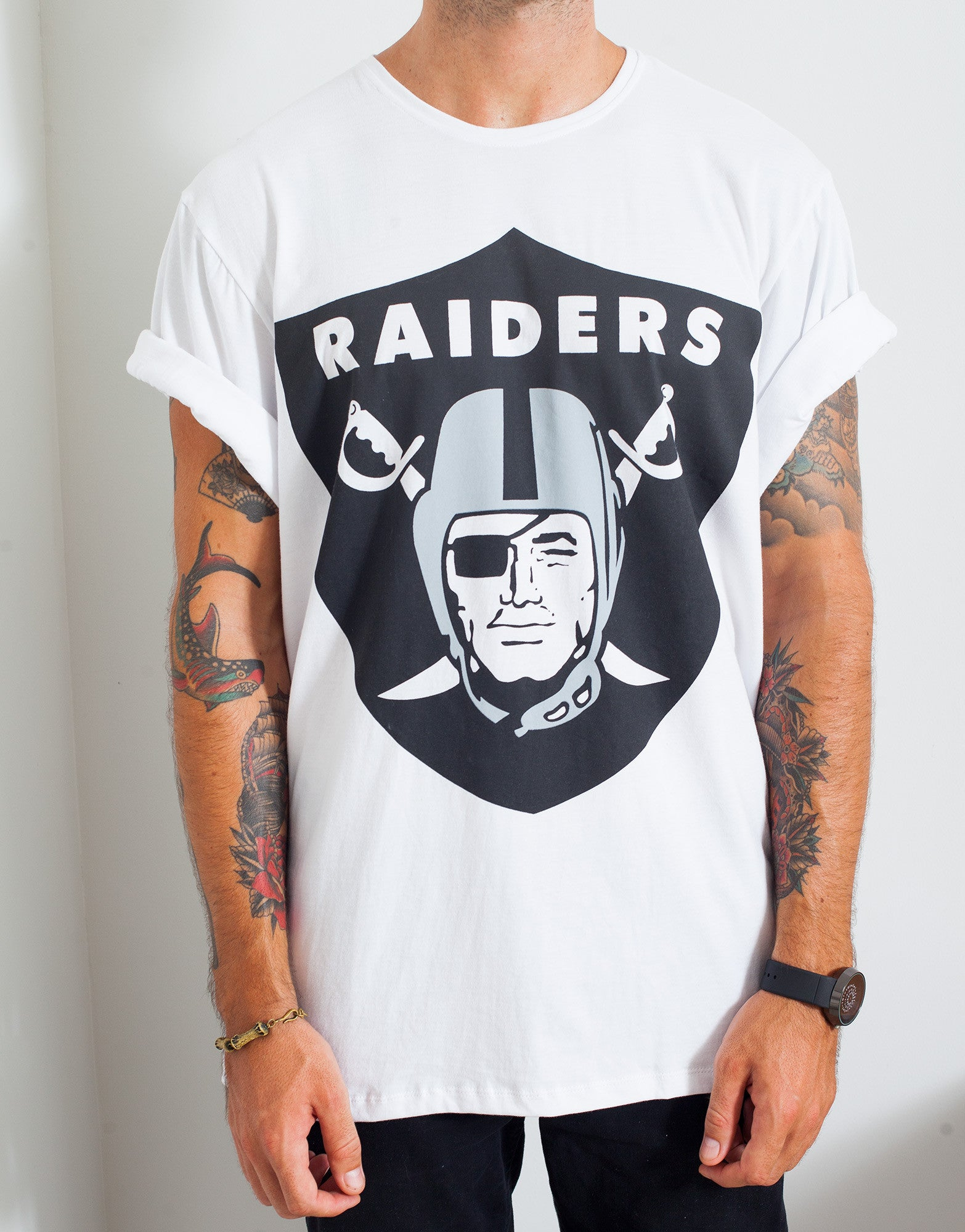Usual Suspect Oversized Raiders Tee