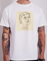 Usual Suspect Messed Up Trump Tee White