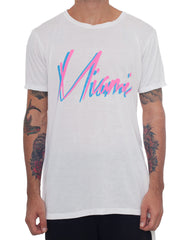Usual Suspect Miami Tee Front