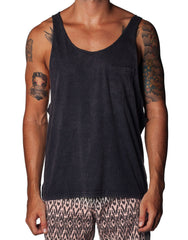 Creature Singlet Black Wash