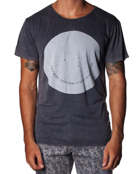 Alright Smile Charcoal Tee