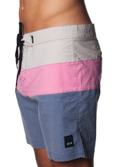 Xavier Short Grey-Pink