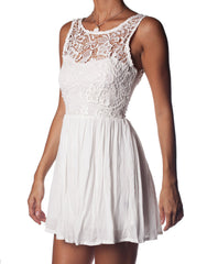 Dream Angel Dress White