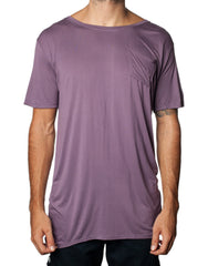 FRANKSLAND Ray's Top Purple - Oversized Purple Mens Tshirt