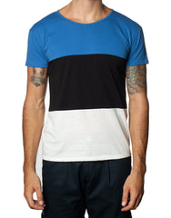 FRANKSLAND Estonia Tee - Striped Mens Tshirt