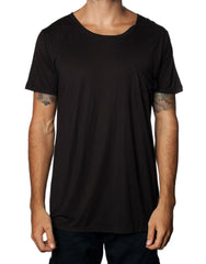 FRANKSLAND Ray's Top. Black Oversized Mens Tshirt
