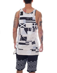 KTZ Apron Vest-Multi Flag Back