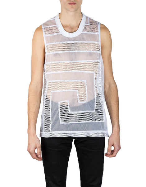 KTZ Greek Ornament Patchwork Vest White