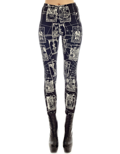 KTZ Tarot Print Leggings