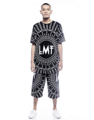 LMT Unisex Oversized Rhea Tee Black Mens Outfit