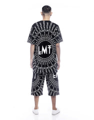 LMT Rhea Shorts Black Outfit Men Back