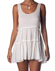 Candy Dress White