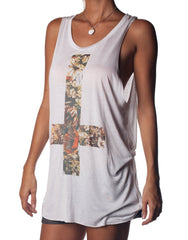 Flower Cross Singlet