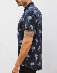 Naken Vacay Shirt Island Vibes Black Wash Sleeves