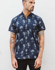 Naken Vacay Shirt Island Vibes Black Wash Main