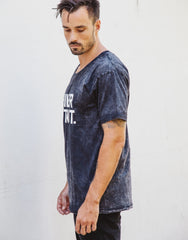 Naken Chiller Instinct Tee Black Wash Left