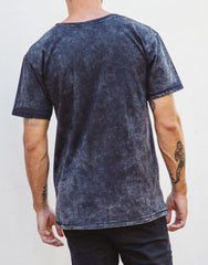 Naken Chiller Instinct Tee Black Wash Back