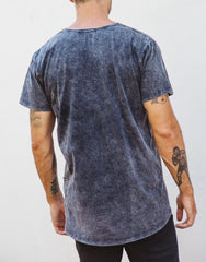 Naken Onyx Tee Black Wash back
