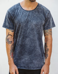 Naken Onyx Tee Black Wash Main