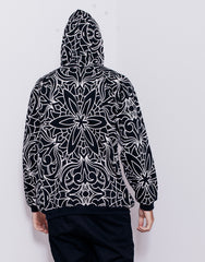 Nemis Abstraction Hoodie Black Back