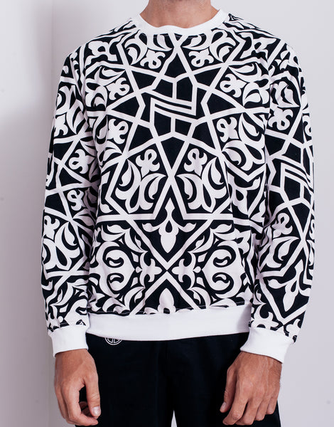 Nemis Arabic Logo Sweater Black