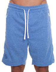 Nemis Blue Shorts with Logo Front