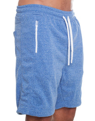 Nemis Blue Shorts with Logo Side
