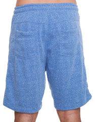 Nemis Blue Shorts with Logo Back