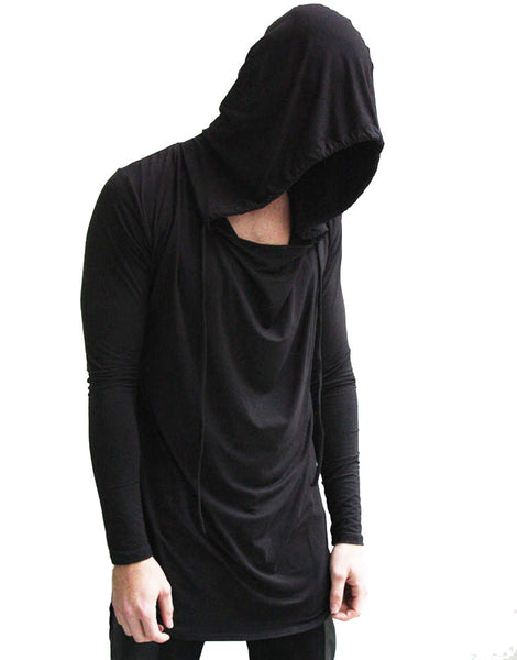 SKINGRAFT Hooded Jersey Black