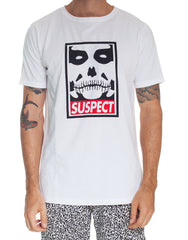 Usual Suspect Giant Tee White Front