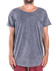 Naken Fully Ripping Tee Charcoal