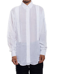 EGR Multi Button Shirt White Front