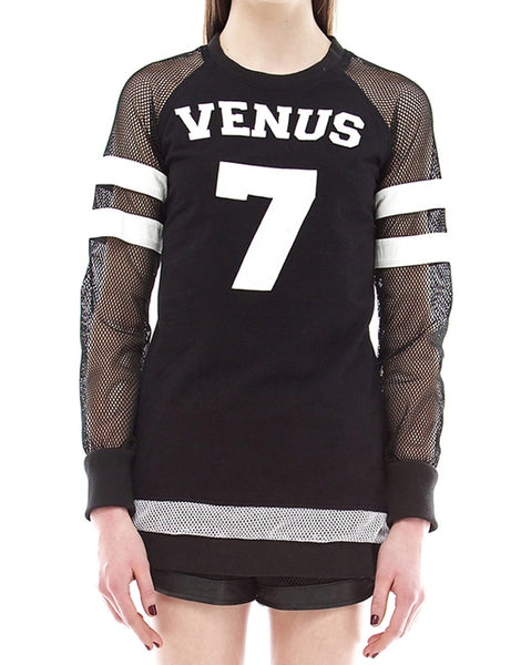 SKINGRAFT Venus Jersey in Black/White
