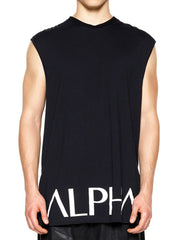 Skingraft Alpha Tunic Black White