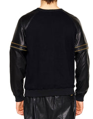 Skingraft Wolf Printed Pullover Gold Back