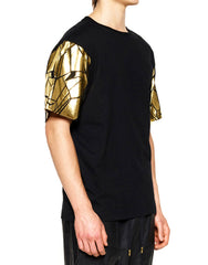 Skingraft Wolf Sleeve Tee Gold Side