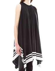Skingraft Poncho Dress Side