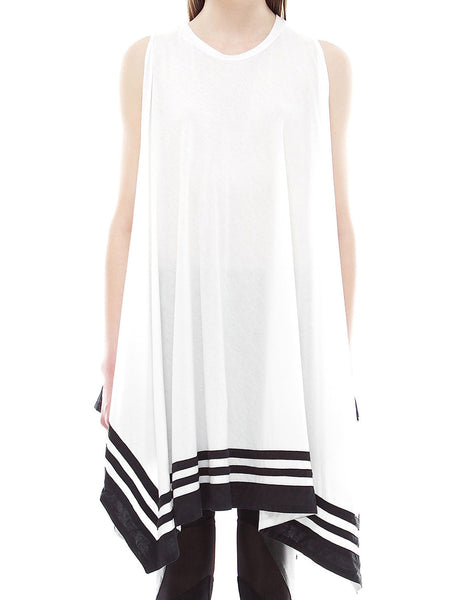 SKINGRAFT Poncho Dress in White