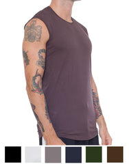 APRIY Fine Sleeveless Tee Colours