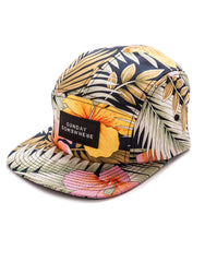 Sunday Somewhere Summer Five Panel Hat Left