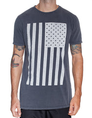 Usual Suspect Stars and Stripes Tee Front