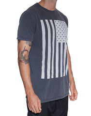 Usual Suspect Stars and Stripes Tee Right