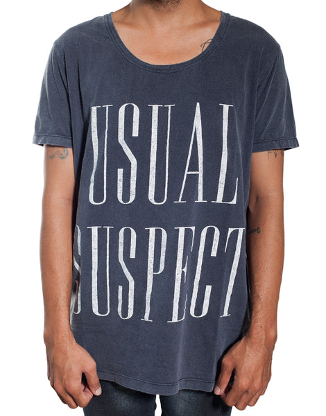 Usual Suspect Serif Tee
